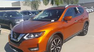 orange nissan rogue 2017 5 nissan rogue platinum edition first look and overview youtube