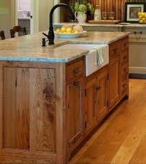 kitchen island oak kitchen island with sink dishwasher and seating solid light oak