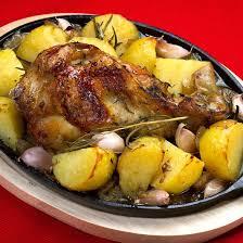 cuisine poulet au four recette cuisses de poulet et pommes de terre au four