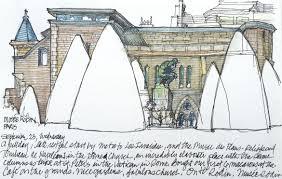 paris by sketch carol case siracuse
