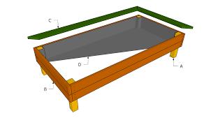 best safe finish elevated garden bed elevated bed raised garden
