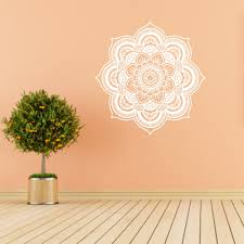 Wall Decals Mandala Ornament Indian by Online Shop Wall Sticker Mandala Flower Indian Bedroom Wall Decal