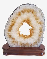 Geode Ring Box Citrine Geode Ring Slice 02 Citrine Cave The Crystal Healer