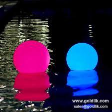 floating pool ball lights waterproof led light ball led christmas ball led glow swimming pool