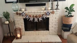 thanksgiving styled fireplace u2013 beautiful treasures blog