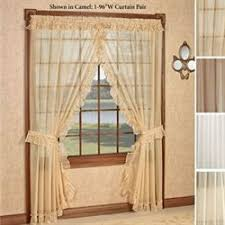 Ruffled Priscilla Curtains Window Curtains Drapes And Valances Touch Of Class