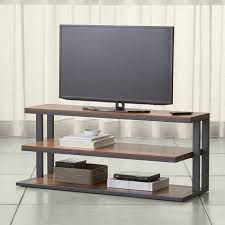 Tv Tables For Flat Screens Tv Stands Media Consoles U0026 Cabinets Crate And Barrel