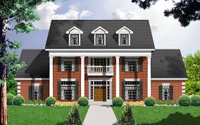 southern colonial style houses house design plans