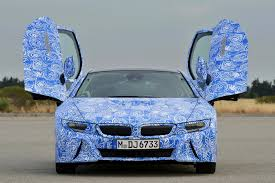 modified bmw i8 bmw i8 266kw plug in hybrid sports car quicker than m3 photos