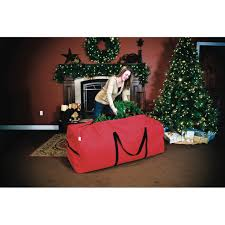 santa u0027s bags 6ft 9ft christmas tree storage duffle bag sb 10133