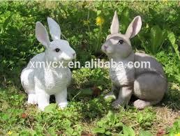 garden ornaments resin white rabbit statue buy white rabbit