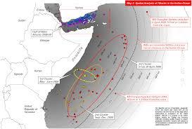 Pirates Map Somali Pirates Map