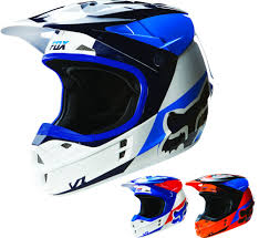 blue motocross helmet men u0027s fox dirt bike motocross helmets
