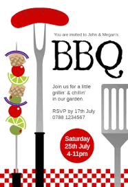 free bbq party invitation u0026 flyer templates greetings island