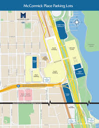 Illinois State Campus Map by Mccormick Place Chicago Illinois