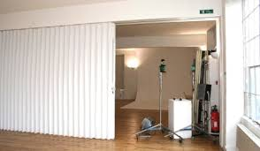 Pvc Room Divider Collapsible Room Dividers Track Mounted Zoobrno Info