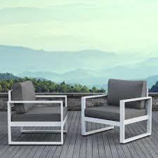 Aluminium Patio Table White Aluminum Patio Furniture Home Design