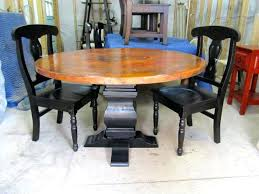 Dining Room Sets Houston Tx Copper Dining Table Legs 60 Copper King Dining Table Copper Dining