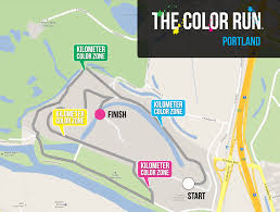 Portland Crime Map by Runners Will Be Blank Canvases In North Portland U0027color Run