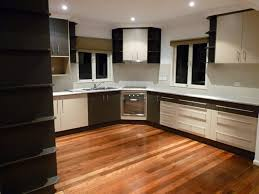 small u shaped kitchen floor plans dark wood finish cost of