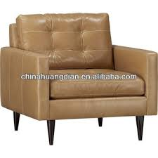 single sofa chair faux leather sofa chair with wooden legs single seat hdl955 buy