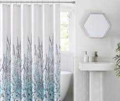 Fabric Shower Curtain With Window Shower Curtains Shower Curtain Sets Big Lots
