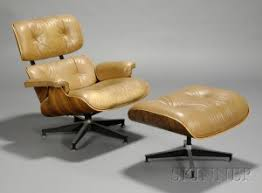 Herman Miller Lounge Chair And Ottoman by Search All Lots Skinner Auctioneers
