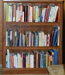 Bookcase With Books The Tale Of Two Bookcases A K A The Domino Effect Get Organized