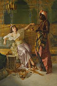 Ottoman Harem by Vincent Stiepevich Russian In The Harem Paintings