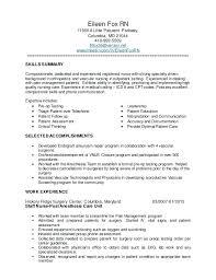 nursing resume exles for medical surgical unit in a hospital medical surgical nurse resume luxsos me