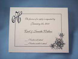 wedding invitation reply card wording wedding invitation reply