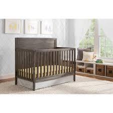 delta children cambridge 4 in 1 convertible crib rustic gray
