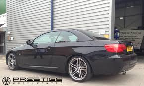 diamond bmw bmw e90 coupe with 313 wheels refurbished and diamond cut at