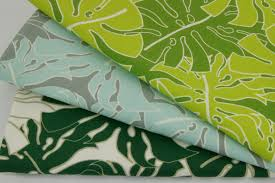 100 cotton home decor large dark green leaves hd