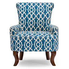 Patterned Accent Chair Good Blue Pattern Accent Chair About Remodel Styles Of Chairs With