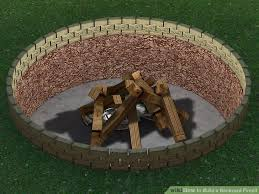 Firepit In Backyard 4 Ways To Build A Backyard Firepit Wikihow