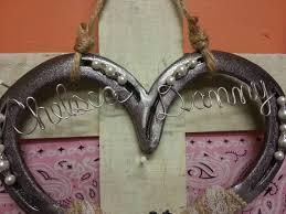 hochzeitsgeschenk hufeisen pferd geschenk hochzeit hufeisen hufeisen dekor verziert