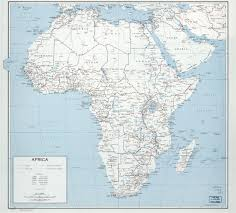 Map Of Countries Large Scale Detailed Political Map Of Africa With Marks Of