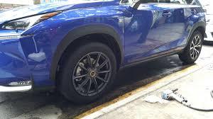 lexus nx200t rims lexus nx 200t custom wheels volk rays 19x et tire size 255 55
