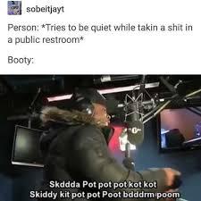 Public Bathroom Meme - dopl3r com memes person tries to be quiet while takin a shit