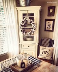 dining room corner cabinets cotton wreath farmhouse dining room rustic style rustic dining