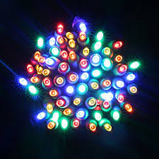 commercial grade christmas lights amazon com 70 leds mini string lights 4 spacing 23ft green wire