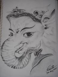 lord ganesh sketch