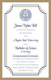graduation announcements wording sles of graduation announcements bf digital printing graduation