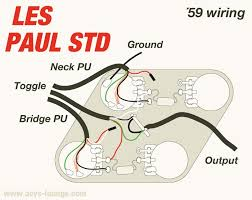 wiring diagram for les paul guitar dolgular com
