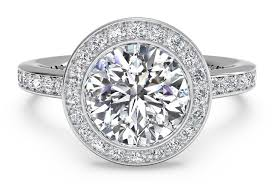 platinum vintage rings images Round cut vintage halo micropav diamond band engagement ring in PNG