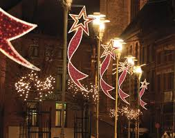 innovation design outdoor commercial christmas decorations big led