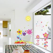 Butterfly Kids Room by Removable Diy Wall Sticker Flower Butterfly Art Vinyl Mural Kids