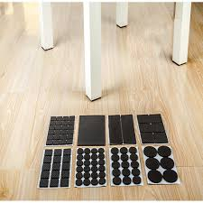Best Chair Leg Protectors For Hardwood Floors by Rey Lightweight Reduced Non Slip Furniture Feet Pads Large Pack