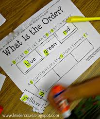Sort Worksheets Alphabetically Abc Order Intro And Freebie
